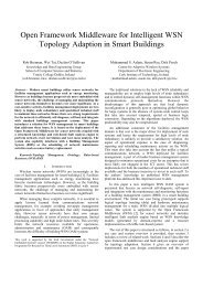 Open Framework Middleware for Intelligent WSN Topology Adaption ...