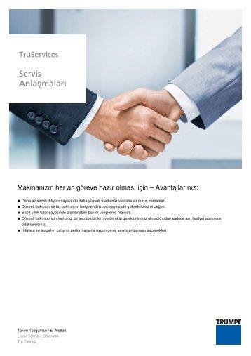 Servis Anlaşmaları - KOZ Makina