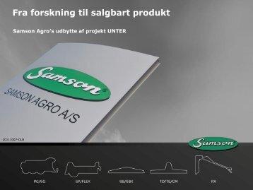 fra forskning til salgbart produkt - inbiom.dk