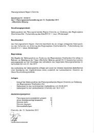 Untitled - Regionaler Planungsverband Region Chemnitz