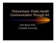 PictureVoice - Society for Public Health Education