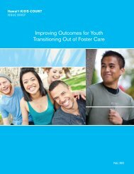 Improving Outcomes for Youth Transitioning Out of Foster Care (2012)