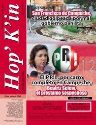 El P.R.I., por carro completo en Campeche;