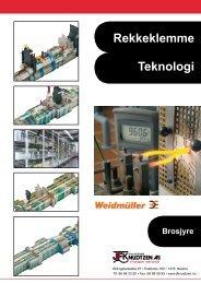 Rekkeklemme Teknologi - Sivilingeniør JF Knudtzen AS