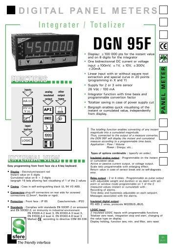 DGN 95F - Delta Strumenti S.r.l.