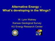 Alternative Energy – What's developing in the Wings? - the Kansas ...