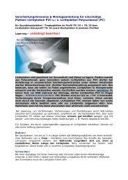 zur Bearbeitung + Montage LIchtplatten - Dachplattenshop24.de
