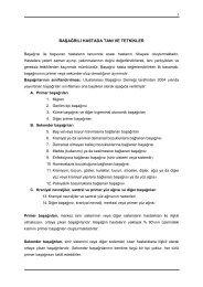 Başağrılı Hastada Tanı ve Tetkikler - Türk Nöroloji Derneği
