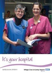 Quality Accounts 2010/2011 - Barts Health NHS Trust