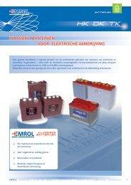 Folder van klassieke batterijen (Nederlands) - Emrol