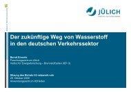 Forschungszentrum Jülich - h2-netzwerk-ruhr