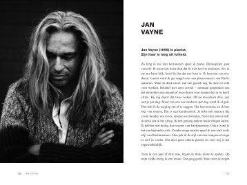 JAN VAYNE - Mannen met lang haar