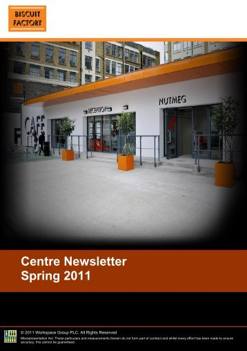 Spring 2011 - The Biscuit Factory
