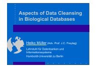 Data Cleansing - dbis - Humboldt-Universität zu Berlin