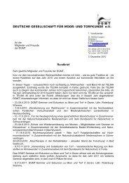 Download als PDF-Datei - Deutsche Gesellschaft für Moor