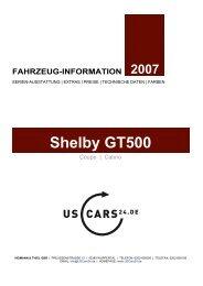 Shelby Hausprospekt/Preise - Heimann & Thiel GbR