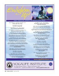 2009 yogalife events in march/april/may - Yoga Living Magazine