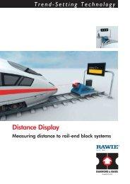 Distance Display - Hanning & Kahl