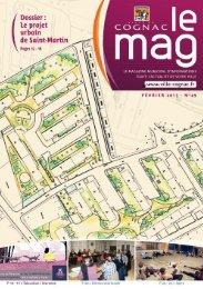 Cognac Mag janvier-février 2013 - Ville de Cognac