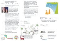 Biodiversität und Klimarelevanz - Deutsche Gesellschaft für Moor
