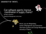 Coordinating Supply Chains