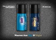 Nuevos Axe Day & Night - Unilever