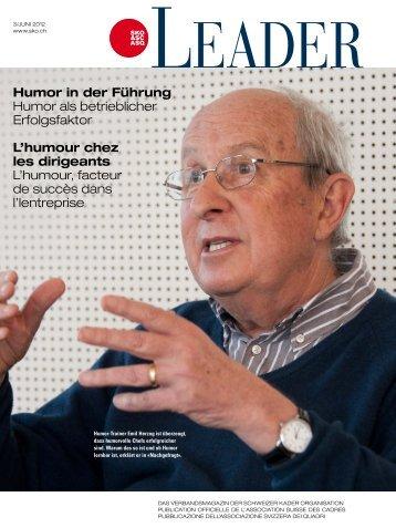 Humor in der Führung Humor als betrieblicher ... - Zollingertext