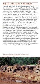Was haben Moore mit dem Klima - Deutsche Gesellschaft für Moor - Seite 2