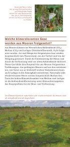 Was haben Moore mit dem Klima - Deutsche Gesellschaft für Moor - Seite 3