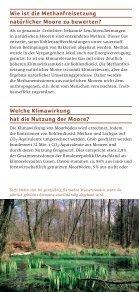 Was haben Moore mit dem Klima - Deutsche Gesellschaft für Moor - Seite 4
