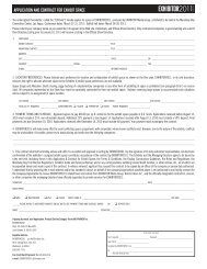 application and contract for exhibit space - Exhibitor Magazine