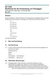 ZH 1/455 Richtlinien für die Verwendung von Flüssiggas