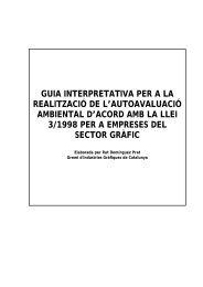 guia interpretativa per a la realització de l'autoavaluació ambiental d ...