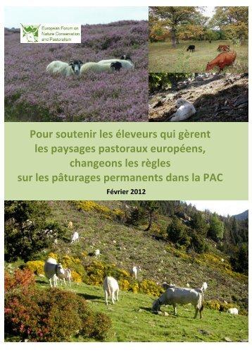 Pour soutenir les éleveurs qui gèrent les paysages pastoraux ...