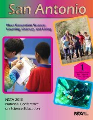 NSTA 2013 National Conference on Science Education