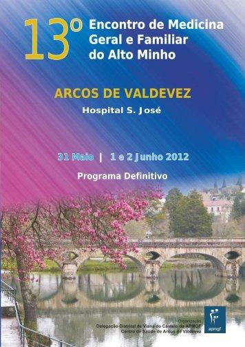 arcos de valdevez - Associação Portuguesa de Medicina Geral e ...