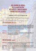Programa de la Asamblea - Asociación de Jueces Francisco de Vitoria - Page 2
