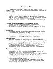 21st Century Skills - South River High School