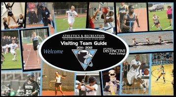 To Visiting Teams - Stockton College