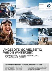 AngeBote, so vielseitig Wie die Winterzeit. - BMW Niederlassung ...
