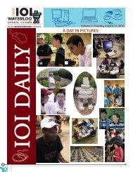 Newsletter 3 - IOI 2010