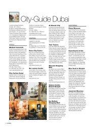 City-Guide Dubai