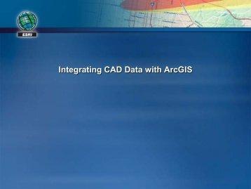 Integrating CAD Data with ArcGIS - Recent Proceedings - Esri