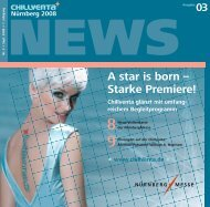 A star is born – Starke Premiere! - auf der Chillventa