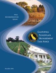 CALIFORNIA FLOODPLAIN MANAGEMENT TASK FORCE