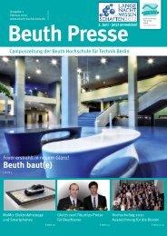 Beuth baut(e) - Beuth Hochschule für Technik Berlin