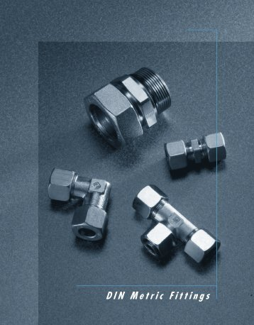 Brennen Din Metric Fittings Catalog - Coastalhydraulics.net