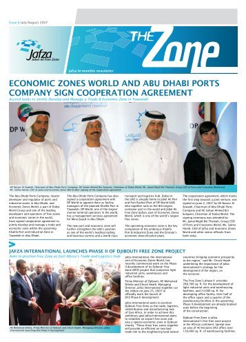 Economic Zones World Bi-Monthly Newsletter - Jebel Ali Free Zone