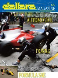 Scarica Dallara Magazine come PDF - Italiaracing