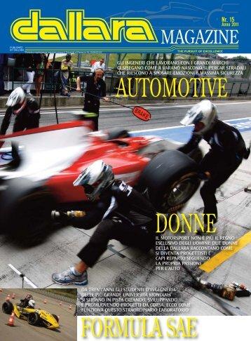 Scarica Dallara Magazine come PDF - Italiaracing